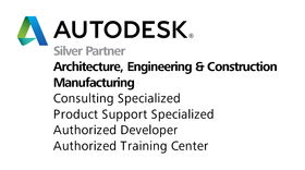 Autodesk Silver Partner - Architecture, Engineering and Construction, Manufacturing